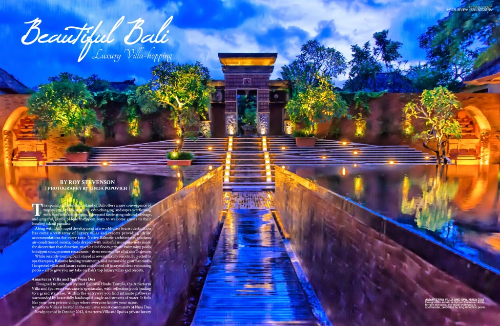 Bali luxury resorts global living magazine for Luxury resorts