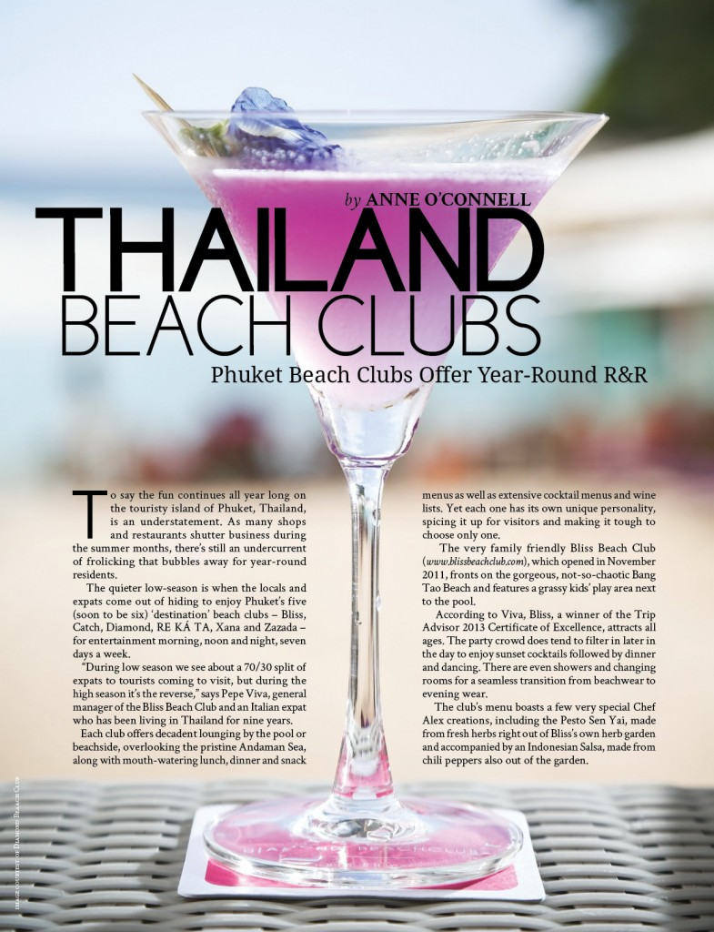 Thailand Beach Clubs - GlobalLiving
