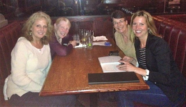 Paula Lucas, Louise Bauschard, Susan Ulbright and Shelley Antscherl