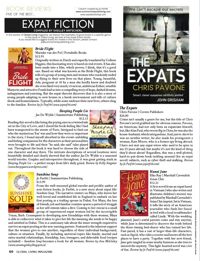 Expat Book Reviews (Fiction)